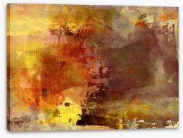 Sunburnt land Stretched Canvas 41007390