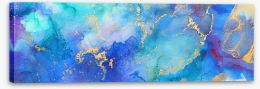 Abstract Stretched Canvas 412646093