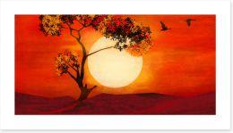 African Art Art Print 416272762