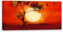 African Art Stretched Canvas 416272762