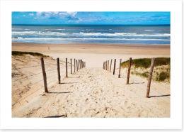 Way to the beach