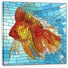 Goldfish mosaic