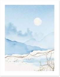 Winter Art Print 420153429