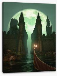 Gothic Stretched Canvas 42494458