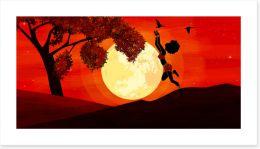 African Art Art Print 426653817