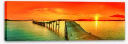 Jetty Stretched Canvas 42726025