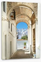 Andalucia archways Stretched Canvas 43491003