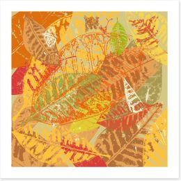 Autumn foliage Art Print 43656100