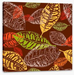 Autumn leaves Stretched Canvas 43656528
