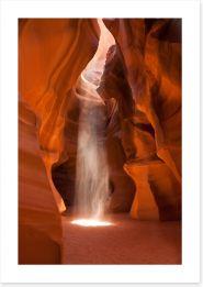 Phantom of Antelope Canyon Art Print 43725962