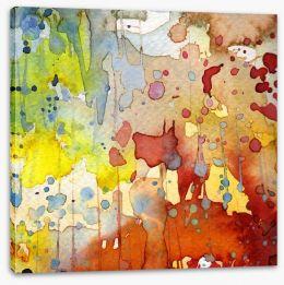 Autumn rain Stretched Canvas 43745386