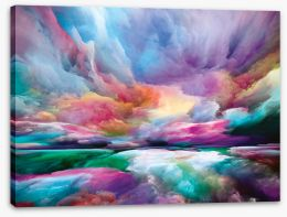 Abstract Stretched Canvas 439022712