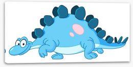 Blue Stegosaurus