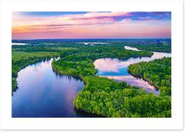 Rivers Art Print 439827148