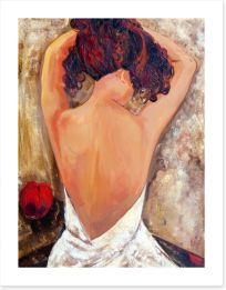 Beauty from behind Art Print 44218815