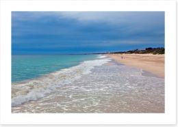 Beautiful Scarborough beach Art Print 44277632