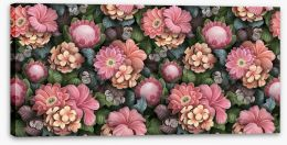 Flowers Stretched Canvas 443380154