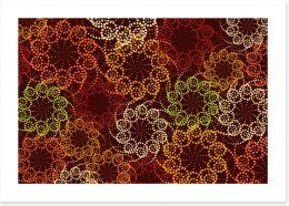 African Art Print 445154267