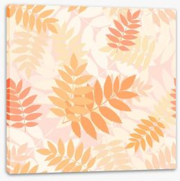 Rowan leaves Stretched Canvas 44845005