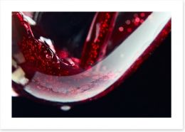 Red red wine Art Print 44879178