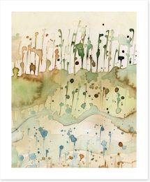 Rain in the meadow