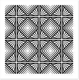 Geometric deco