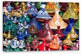 Tajine bazaar Stretched Canvas 46905975