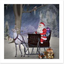 Christmas Art Print 46935070