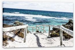 Rottnest Island beach Stretched Canvas 48186873