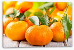Tangerines Stretched Canvas 48374652