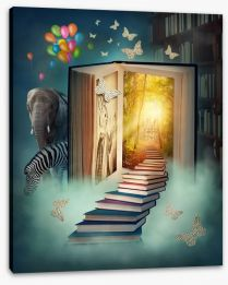 Magical Kingdoms Stretched Canvas 48999504