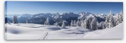 Alpine perfection Stretched Canvas 49692609