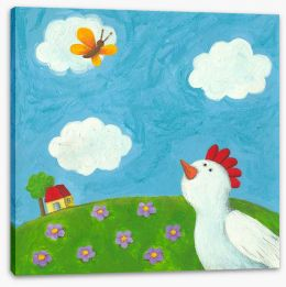 Animal Friends Stretched Canvas 50109207