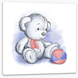 Teddy Bears Stretched Canvas 50323378