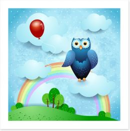 Hooty and the red balloon