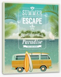 Summer escape Stretched Canvas 50353191