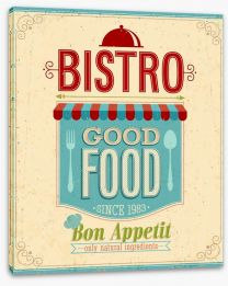 Good food bistro Stretched Canvas 50469088