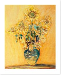 Sunflowers Art Print 50642218