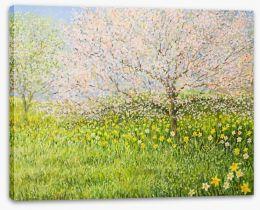 Springtime impressions Stretched Canvas 50642219