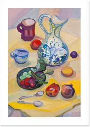 Summer breakfast Art Print 50808767