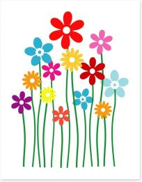 Fun Gardens Art Print 50905685