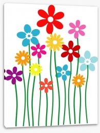 Fun Gardens Stretched Canvas 50905685