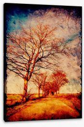 Vintage Stretched Canvas 51110687