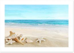 Beaches Art Print 51359291