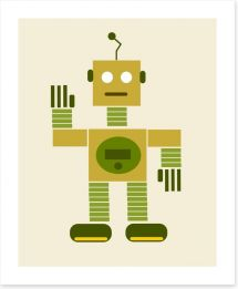 The green android