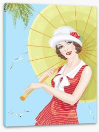 Summer at the seaside Stretched Canvas 51972039