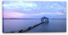 Matilda Bay boathouse Stretched Canvas 52253552