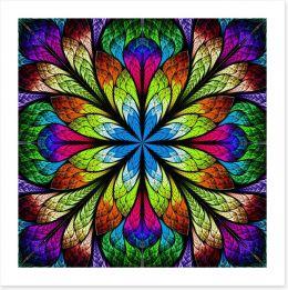 Multicolour fractal