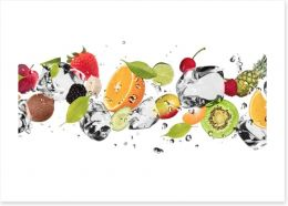 Glacé fruit Art Print 52519180