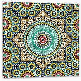 Marrakech glaze Stretched Canvas 52984390